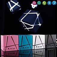 geleid kubus mp3-functie mini bluetooth speaker met TF-poort voor iPhone 6 plus / laptop / tablet pc