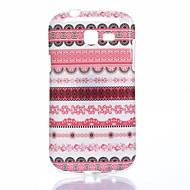 Для Кейс для  Samsung Galaxy Чехлы панели С узором Задняя крышка Кейс для Полосы / волосы TPU для Samsung Trend Lite