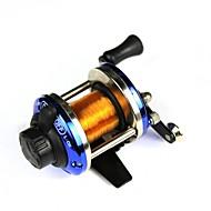 abordables Carretes de Pesca-Carrete de la pesca Carretes de lanzamiento 3.6:1 Relación de transmisión Rodamientos de bolas -Manos Pesca de agua dulce