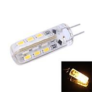お買い得  LED コーン型電球-90 lm G4 LEDコーン型電球 T 24 LEDの SMD 3014 温白色 DC 12V