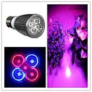 5W E26/E27 Focos LED MR16 5 leds LED de Alta Potencia 200-300lm Morado 1 AC 85-265
