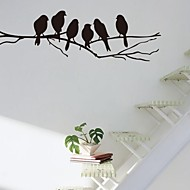 abordables Adhesivos Decorativos-Pegatinas de pared Pegatinas de pared de animales Calcomanías Decorativas de Pared, Vinilo Decoración hogareña Vinilos decorativos Pared