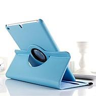 billige iPad-tilbehør-Etui Til iPad 4/3/2 Med stativ 360° Rotation Fuldt etui Helfarve PU Læder for iPad 4/3/2