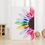 Для Кейс для  Samsung Galaxy Бумажник для карт / Кошелек / со стендом / Флип / С узором Кейс для Чехол Кейс для Цветы Искусственная кожа