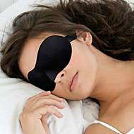 abordables Confort de Viaje-Máscara de Viaje para Dormir 3D Portátil Telones Ajustable Cómodo Descanso en Viaje Sin costura Transpirabilidad 1 juego para Viaje