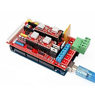 Mega-2560 rampas 3d impresora R3 + 1,4 extender escudo + 4988 paso a paso conjunto de controladores