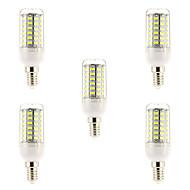 お買い得  LED コーン型電球-E14 フィラメントタイプLED電球 69 LED SMD 5730 ナチュラルホワイト 1500lm 6000-6500K 交流220から240V
