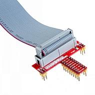 お買い得  Arduino 用アクセサリー-26ピンは、データケーブルを指定し、ラズベリーパイbについてのt GPIO拡張ボードアクセサリ+