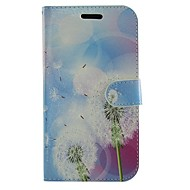 For Samsung Galaxy etui Kortholder Med stativ Flip Mønster Etui Heldækkende Etui Mælkebøtte Kunstlæder for Samsung Gio