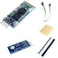 お買い得  Arduino 用アクセサリー-HC-06のArduino用のワイヤレスBluetoothトランシーバRFメインモジュールのアクセサリー