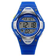 SKMEI Niño Reloj Casual Reloj digital Cuarzo Digital Cuarzo Japonés Reloj Deportivo Caucho Banda Negro Azul Rosa