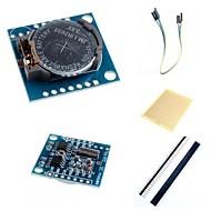 お買い得  Arduino 用アクセサリー-のi2c DS1307リアルタイムクロックモジュール小さなRTC 2560のUNO R3とArduinoのためのアクセサリー