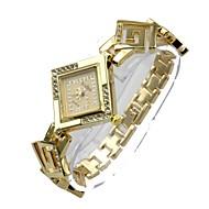 abordables Relojes Bohemios-Mujer Reloj de Pulsera Simulado Diamante Reloj Cuarzo 30 m Gran venta Aleación Banda Analógico Bohemio Plata / Dorado - Plata Dorado