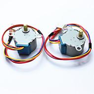 お買い得  Arduino 用アクセサリー-ArduinoのためのDC 5V 28ybj-48ステッピングモータ((公式のArduinoボード/ 2個で動作します)