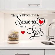 olcso -falimatrica fali matricák, ez a konyha fűszeres szeretettel pvc konyha matricák