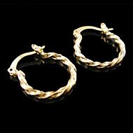 Žene Sitne naušnice kostim nakit Pozlaćeni Jewelry Za Vjenčanje Party Dnevno Kauzalni Sport