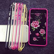 Недорогие Кейсы для iPhone 8-Кейс для Назначение Apple iPhone 8 / iPhone 8 Plus / iPhone 7 Прозрачный Бампер Однотонный Мягкий ТПУ для iPhone 8 Pluss / iPhone 8 / iPhone 7 Plus