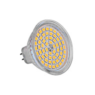 billige -ywxlight® 5w gu5.3 (mr16) led spotlight mr16 60 smd 2835 350-400 lm varm hvit kald hvit dc 12 v