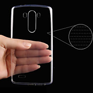 お買い得  携帯電話ケース-ケース 用途 LG G3 フルボディケース ソリッド ハード PUレザー のために