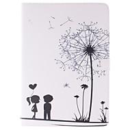 Для Кейс для  Samsung Galaxy Бумажник для карт / Кошелек / со стендом / Флип / С узором Кейс для Чехол Кейс для ОдуванчикИскусственная