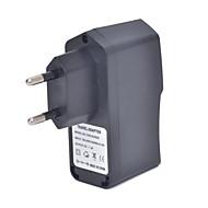 CHD-su0520 universal 5v 2a usb vekselstrøm oplader adapter - sort (100 ~ 240V / EU stik)