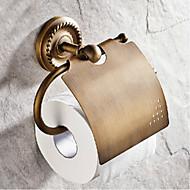 voordelige Badkamergadgets-Toiletrolhouder Antiek Messinki 1 stuks - Hotel bad