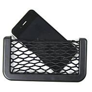 auto netto-organisator zakken auto bagagenet 14.5x8cm automotive zak doos lijm vizier auto zak voor gereedschap mobiele telefoon