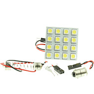 abordables Intermitentes para Coche-SO.K G4 / BA9S / Festón Coche Bombillas LED de Alto Rendimiento / SMD 5050 160-180lm Luces interiores For Universal