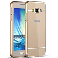 voordelige Galaxy A-serie hoesjes / covers-hoesje Voor Samsung Galaxy Samsung Galaxy hoesje Beplating Achterkant Effen Kleur Hard Acryl voor A9(2016) A7(2016) A5(2016) A3(2016) A9