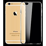 abordables Fundas para iPhone 8 Plus-Funda Para Apple iPhone X / iPhone 8 / iPhone 8 Plus Ultrafina / Transparente Funda Trasera Un Color Suave Silicona para iPhone X / iPhone 8 Plus / iPhone 8