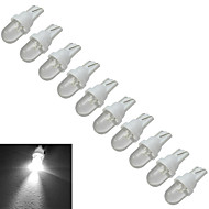 Χαμηλού Κόστους Άλλα φωτιστικά LED-0,5W 30-50 lm T10 Διακοσμητικό Φως 1 leds Ψυχρό Λευκό DC 12V