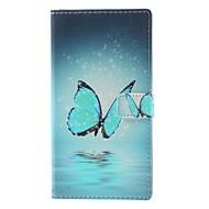 Para Funda LG Cartera / Soporte de Coche / con Soporte / Flip / Diseños Funda Cuerpo Entero Funda Mariposa Dura Cuero Sintético LG LG G3