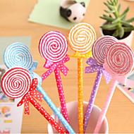 Kleurrijke Lolly Shaped Ball Pen (willekeurige kleur)