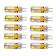 1.5W G4 LED Corn Lights T 24 SMD 3014 120 lm Warm White Cold White 2800-3000/6000-6500 K AC 12 V