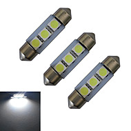 abordables Otras Luces LED-1W 60 lm Festón Luces Decorativas 3 leds SMD 5050 Blanco Fresco DC 12V
