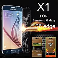 お買い得  Samsung 用スクリーンプロテクター-スクリーンプロテクター Samsung Galaxy のために S6 edge PET スクリーンプロテクター
