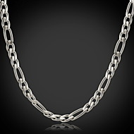 cheap -Women's Shape Fashion Chain Necklace Stainless Steel Titanium Steel Steel Chain Necklace Christmas Gifts Wedding Party Special Occasion