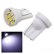 お買い得  -SO.K 2pcs T10 車載 電球 SMD LED 8 インテリアライト