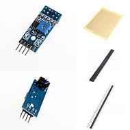 お買い得  Arduino 用アクセサリー-反射型センサと付属品赤外線tcrt5000追跡センサー