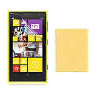 お買い得  スクリーンプロテクター-スクリーンプロテクター Nokia のために Nokia Lumia 1020 PET 1枚 超薄型