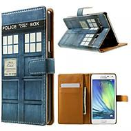 Для Кейс для  Samsung Galaxy Бумажник для карт / со стендом / Флип / С узором / Магнитный Кейс для Чехол Кейс для Мультяшная тематика