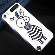die Größe des Augen Karikatur Zebramuster-Entwurfsmuster Hartschalenetui für iPod-Note 5 rückseitige Abdeckung