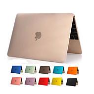 애플의 새로운 맥북 12 인치 고품질의 투명 명확한 PVC 몸 전체 하드 케이스 커버 (모듬 색상)