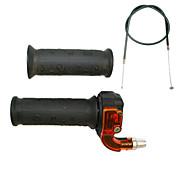 Недорогие Запчасти для мотоциклов и квадроциклов-карманный велосипед мини двигатель моторизованный велосипед руле ручки дросселя набор кабелей 33 49CC