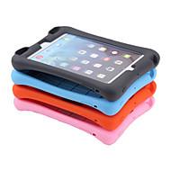 miljømæssige silikone bløde ren farve højttaler stødsikker full cover tilfældet for Apple iPad mini1 / 2/3 7,9 inch