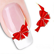 3D Nail Stickers - Muuta - Abstrakti/Lovely - Sormi/Varvas - 10.5X7X0.1 - 1
