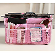 cheap Travel Accessories-Travel Bag Travel Kit Travel Toiletry Bag Cosmetic Bag Insert Organizer Handbag Travel Luggage Organizer / Packing Organizer Waterproof