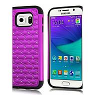 Χαμηλού Κόστους Θήκες / Καλύμματα για Samsung-Για Samsung Galaxy Θήκη Ανθεκτική σε πτώσεις / Στρας tok Πίσω Κάλυμμα tok Γεωμετρικά σχήματα PC Samsung S6 edge / S6