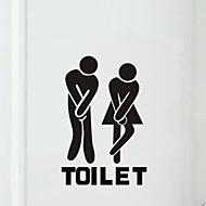 お買い得  浴室用小物-浴槽用アップリケ トイレ / 浴槽 / シャワーカーテン / 医学キャビネット プラスチック 多機能 / 環境に優しい / 漫画 / ギフト