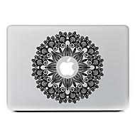 kör virág 3 dekoratív bőr matrica MacBook Air / Pro / pro retina kijelző